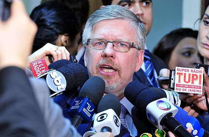 Relator da CPMI, dep. Marco Maia (PT-RS) concede entrevista