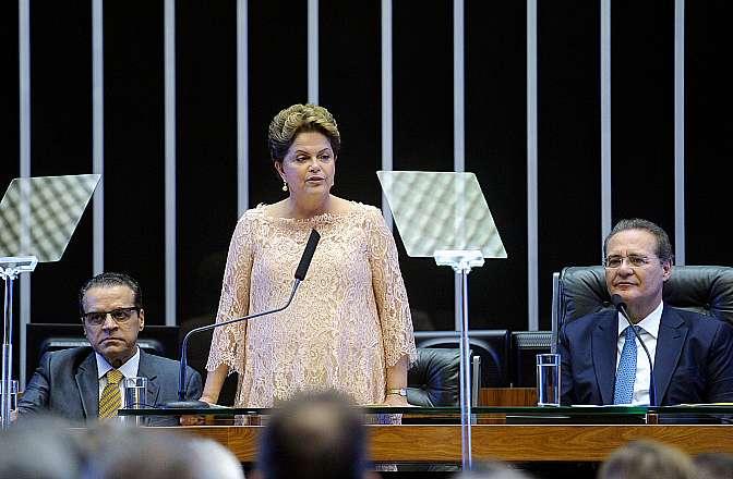 Cerimônia de posse da presidente reeleita Dilma Rousseff
