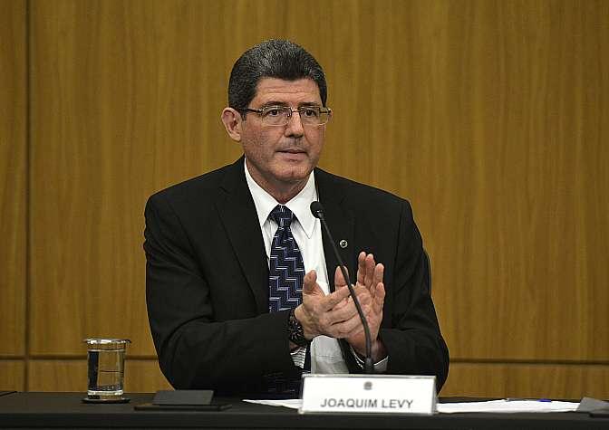 Autoridades - Joaquim Levy ministro da Fazenda
