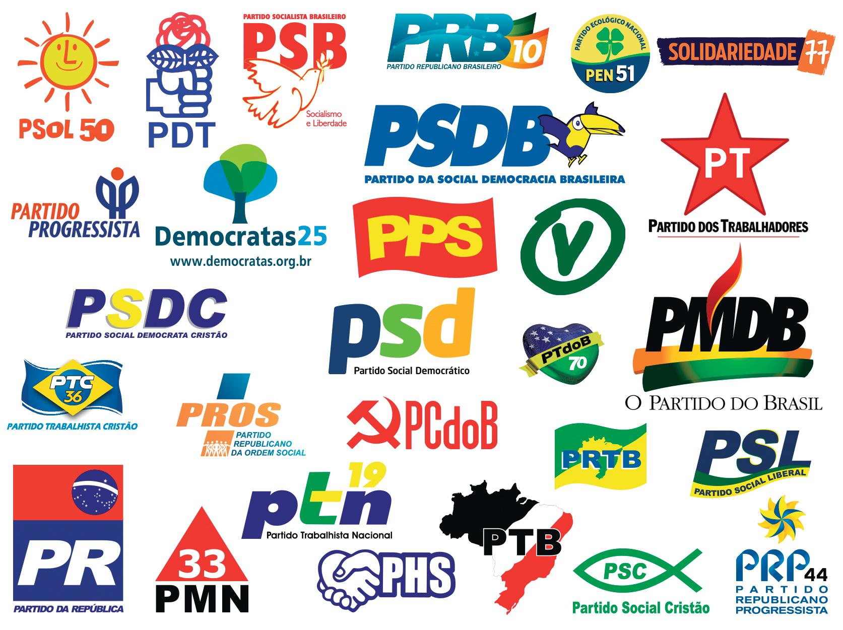 Política - reforma política - partidos políticos legendas