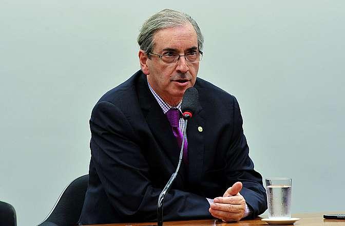 Reunião de instalação da comissão especial que vai analisar a proposta de reforma política (PEC 352/13). Presidente da Câmara, dep. Eduardo Cunha (PMDB-RJ)