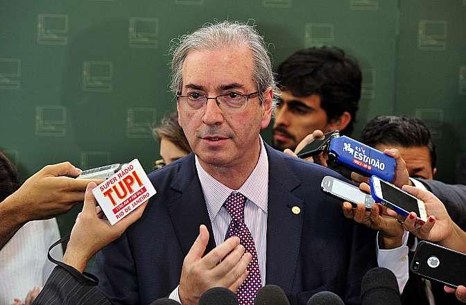 Presidente da Câmara, dep. Eduardo Cunha (PMDB-RJ) fala sobre a concessão de passagens aéreas para as esposas de parlamentares