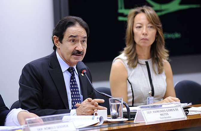 Reunião da Comissão Externa sobre a Transposição do Rio São Francisco. Dep. Raimundo Gomes de Matos (PSDB-CE)