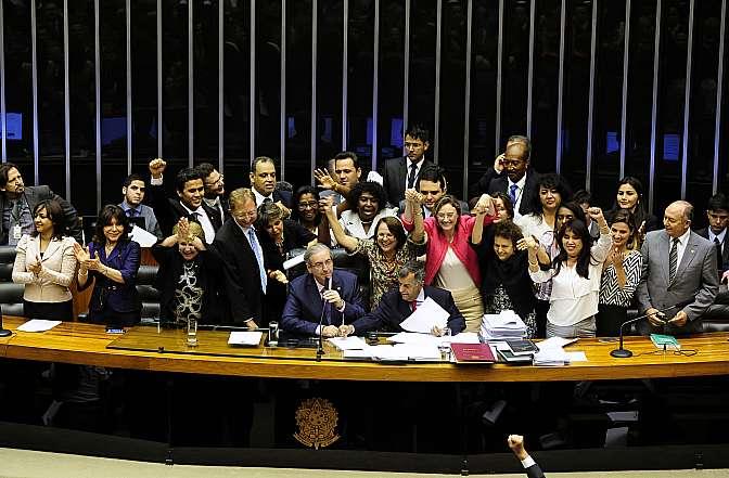 Ordem do Dia, Votação da  PL 8305/2014 que incluir o feminicídio no rol dos crimes hediondos