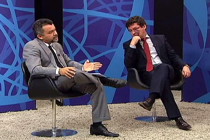 deputados Reginaldo Lopes (PT-MG) e Cleber Verde (PRB-MA)