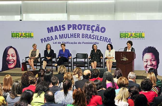 Presidenta Dilma Rousseff Sanciona a Lei de Tipificação do Feminicídio