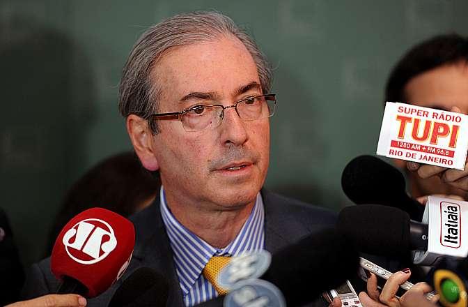 Câmara - Presidente Eduardo Cunha - entrevista coletiva