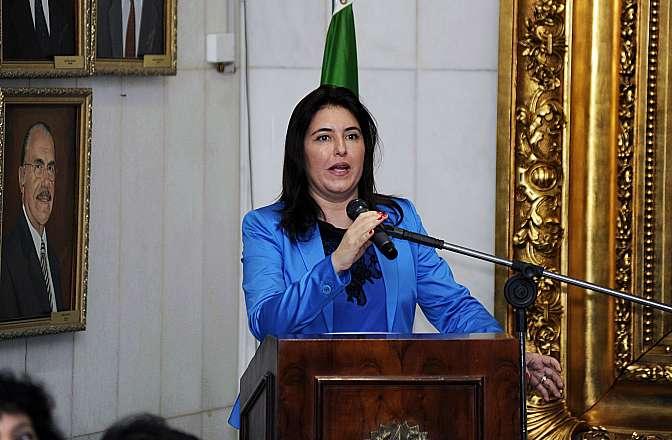 Cerimônia de abertura dos trabalhos da Comissão. Sen. Simone Tebet (PMDB-MS)