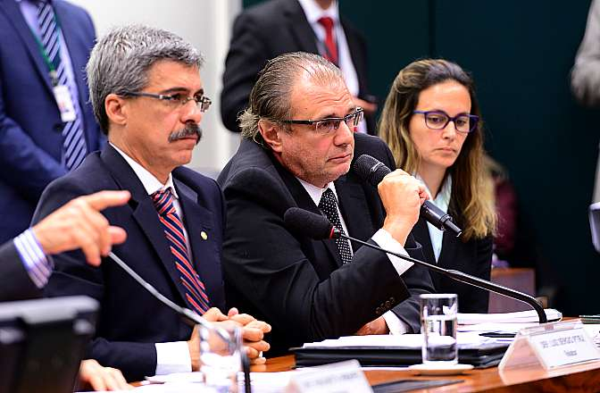 Oitiva com Pedro José Barusco Filho, ex-gerente da Petrobras e delator da Operação Lava Jato, da Polícia Federal