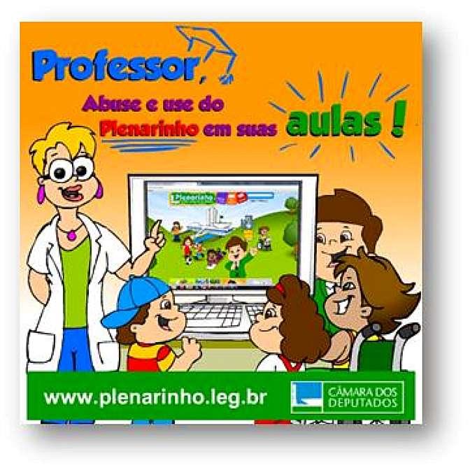 Plenarinho cria planos de aula para auxiliar professores