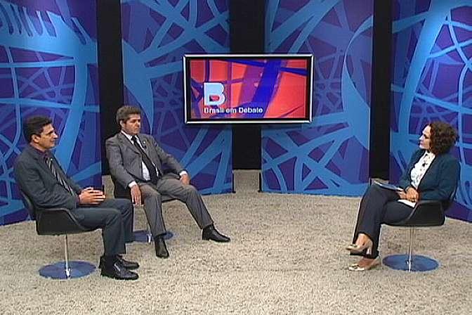 deputados Ságuas Moraes (PT-MT) e delegado Waldir (PSDB-GO)