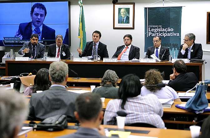 Reunião para ouvir as principais demandas das entidades da sociedade civil organizada para o corrente ano. Dep. Glauber Braga (PSB - RJ)