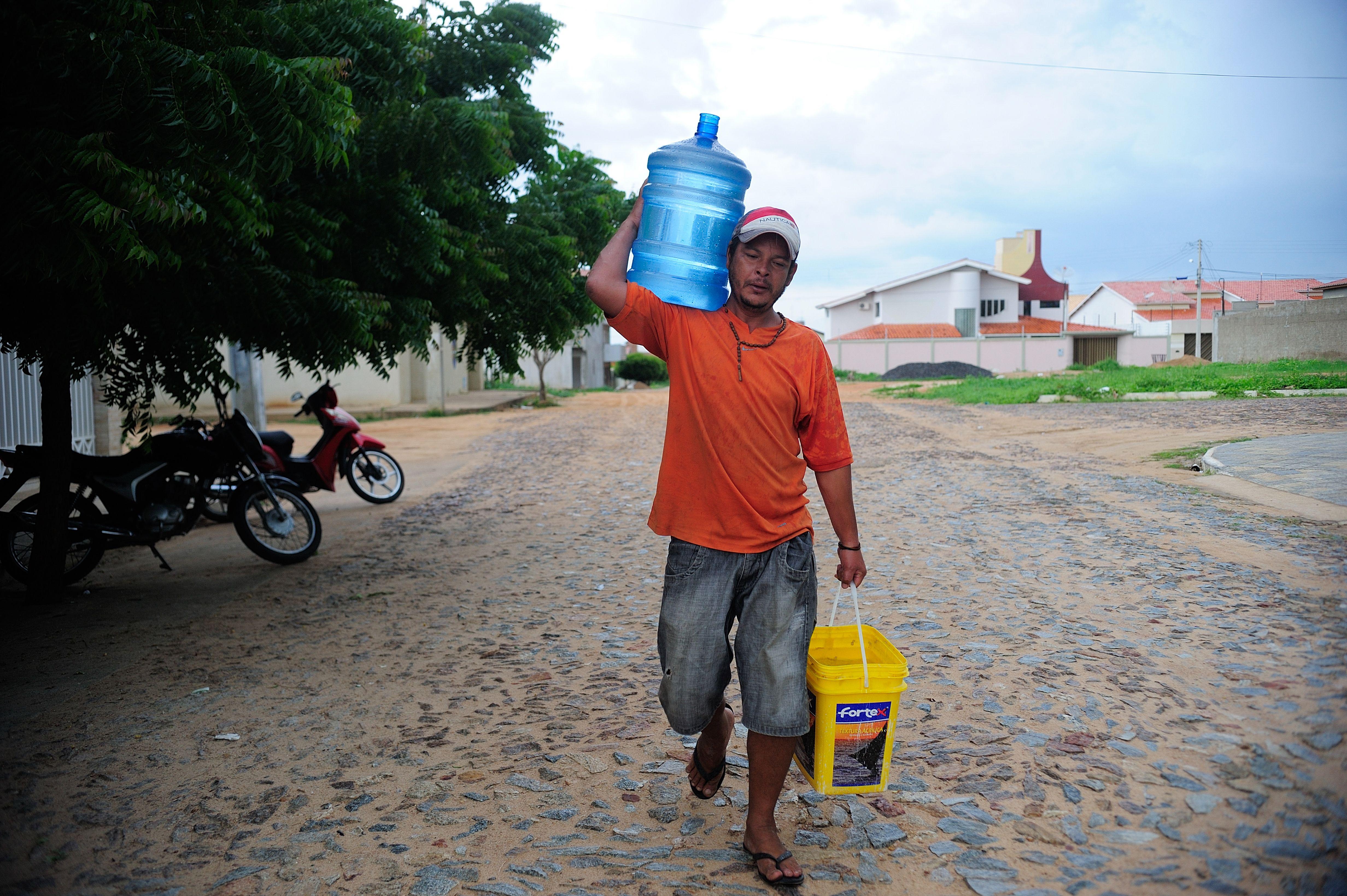 Meio Ambiente - Seca - crise hídrica falta de água