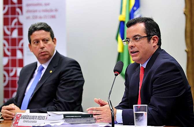Audiência pública para debater a PEC nº 171/93, que trata da imputabilidade penal do menor. Constitucionalista Fabrício Juliano Mendes Ribeiro