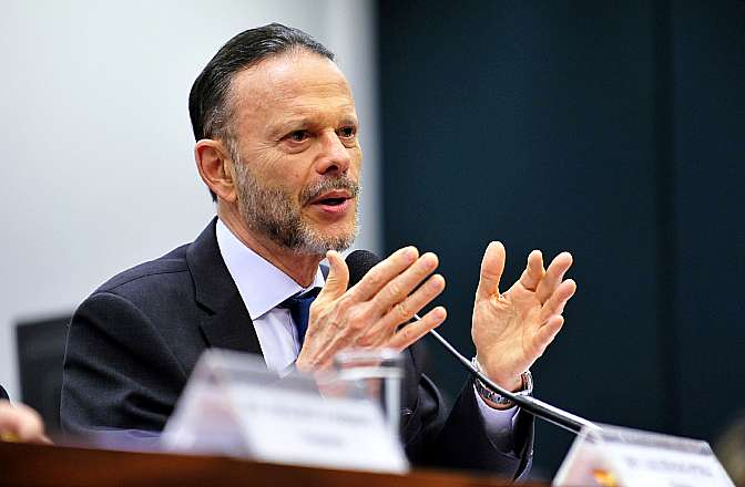 Audiência pública para ouvir o depoimento do presidente do Banco Nacional de Desenvolvimento (BNDES), Luciano Coutinho
