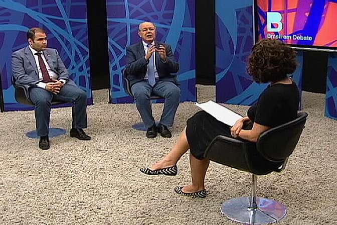 dep. Luiz Carlos Hauly e dep. Lucas Vergílio
