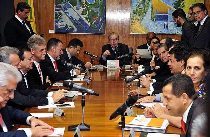 Reunião do colegiado de líderes para discutir a pauta de votações