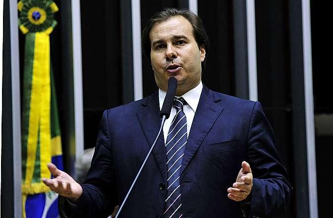 Sessão para análise e discussão da Reforma Política. Dep. Rodrigo Maia (DEM-RJ)