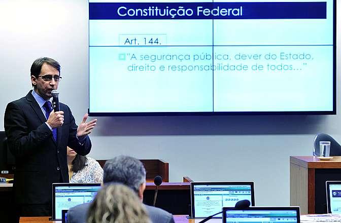 Audiência Pública e Reunião Ordinária. Ex-Secretário de Estado de Ações Estratégicas do Espirito Santo, Álvaro Farjado