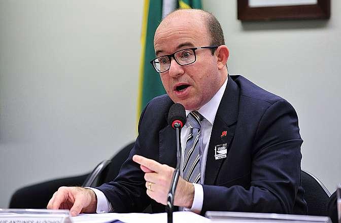 Audiência Pública e Reunião Ordinária. Representante da Associação Nacional dos Procuradores Municipais (ANPM), Luiz Henrique Antunes Alóchio