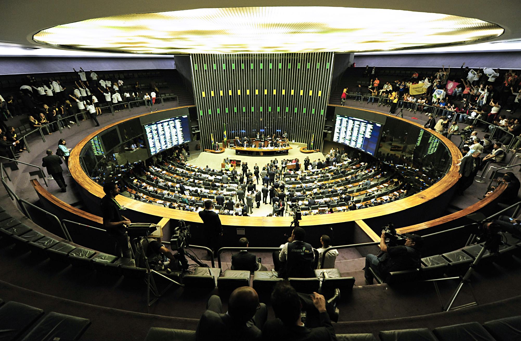 Câmara - plenário - votação ordem do dia plenário