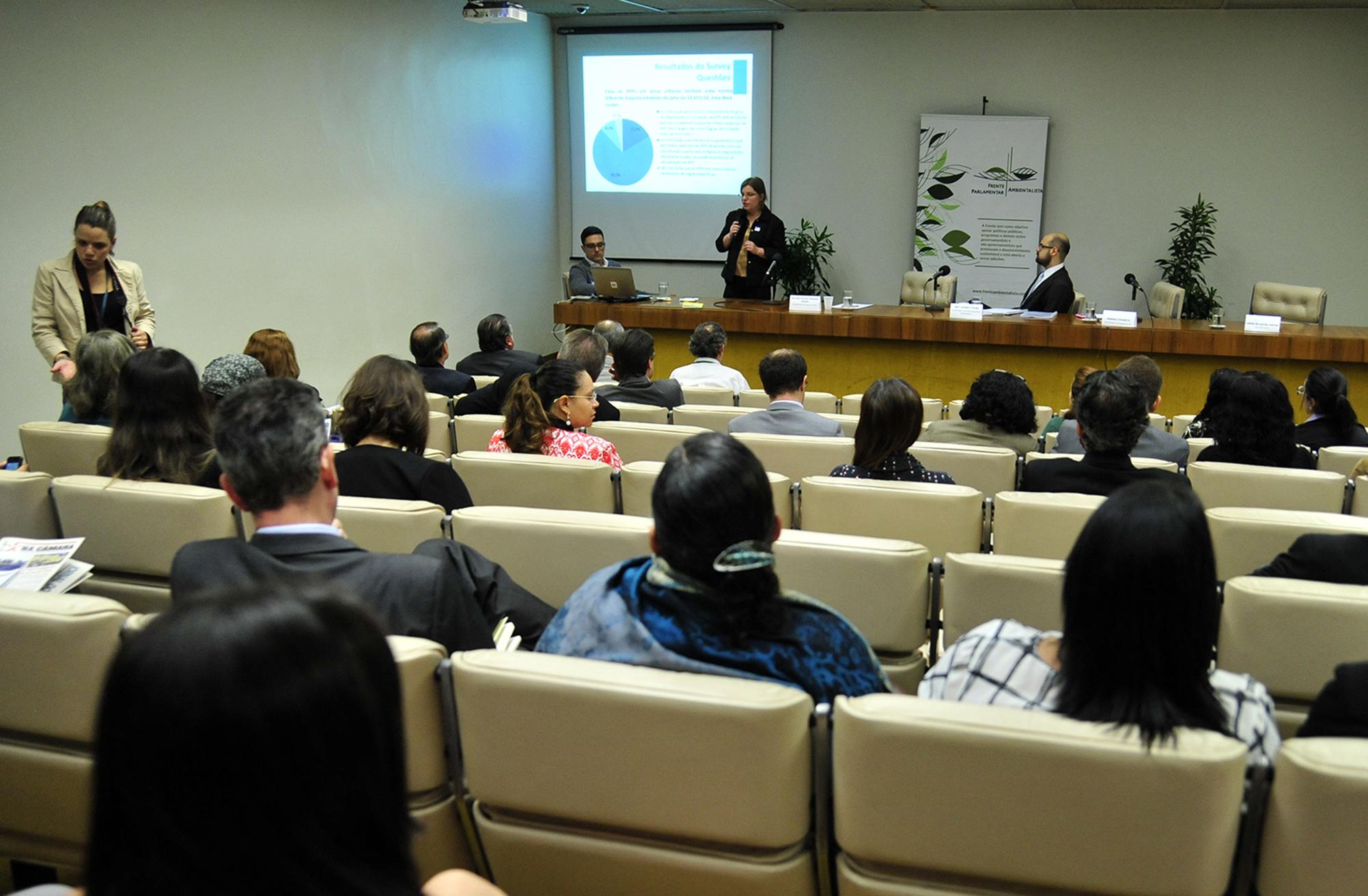 """Apresentação dos resultados da pesquisa """"Proposta Regulatória para as Áreas de Preservação Permanente Urbanas"""""""