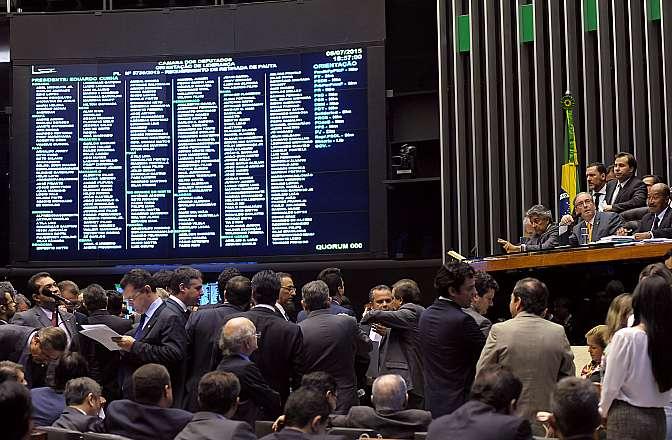 Ordem do dia destinada a votar novas regras eleitorais