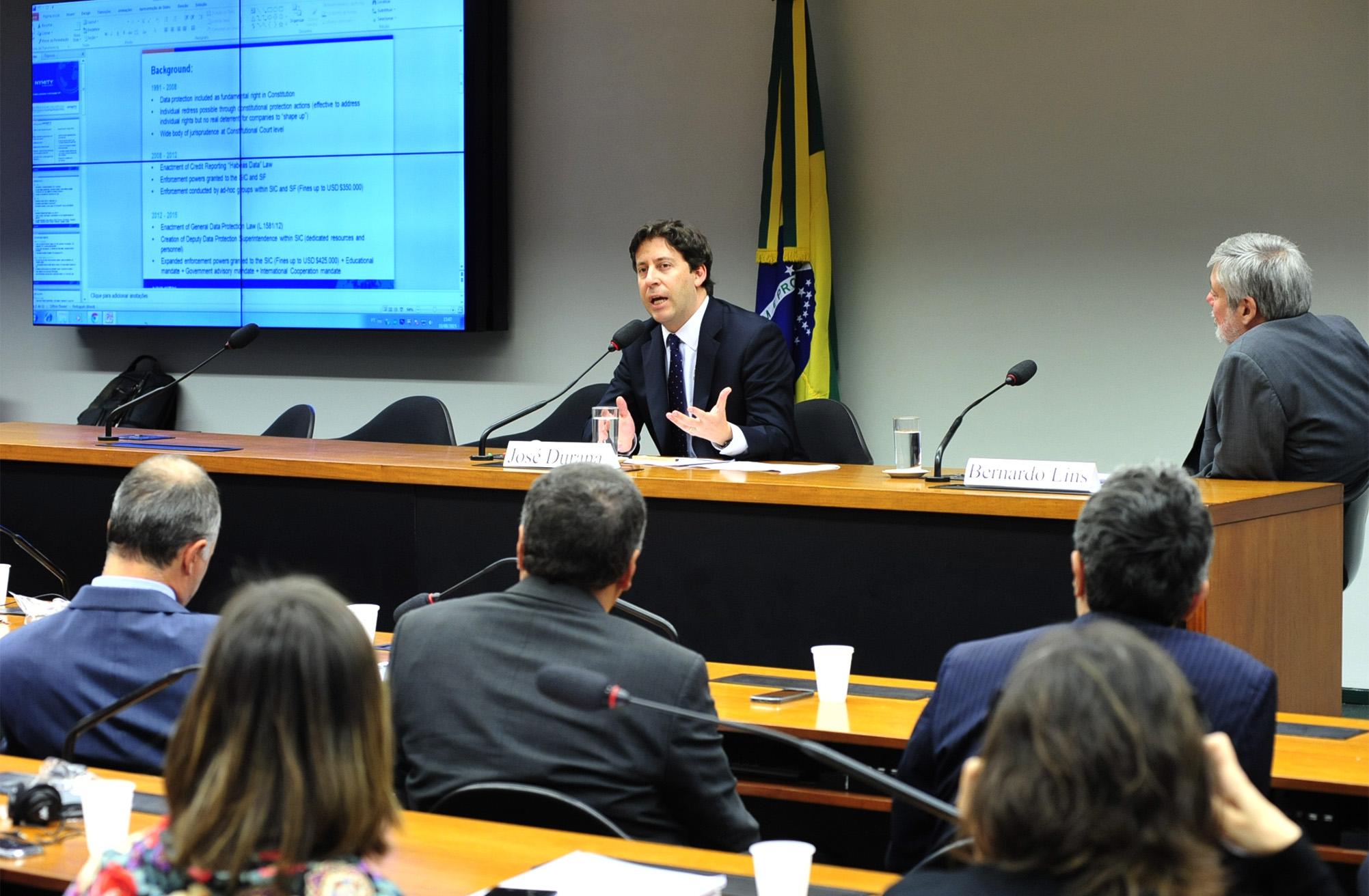 Seminário Proteção de dados pessoais: a experiência internacional e o caso brasileiro. José Durana