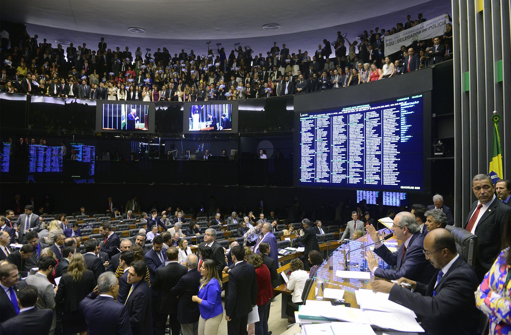Votação da PEC 443/2009 -  que