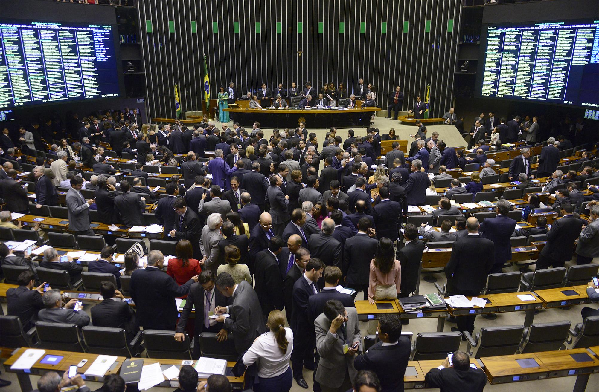 Câmara - plenário - votações galerias sessão presidente Eduardo Cunha