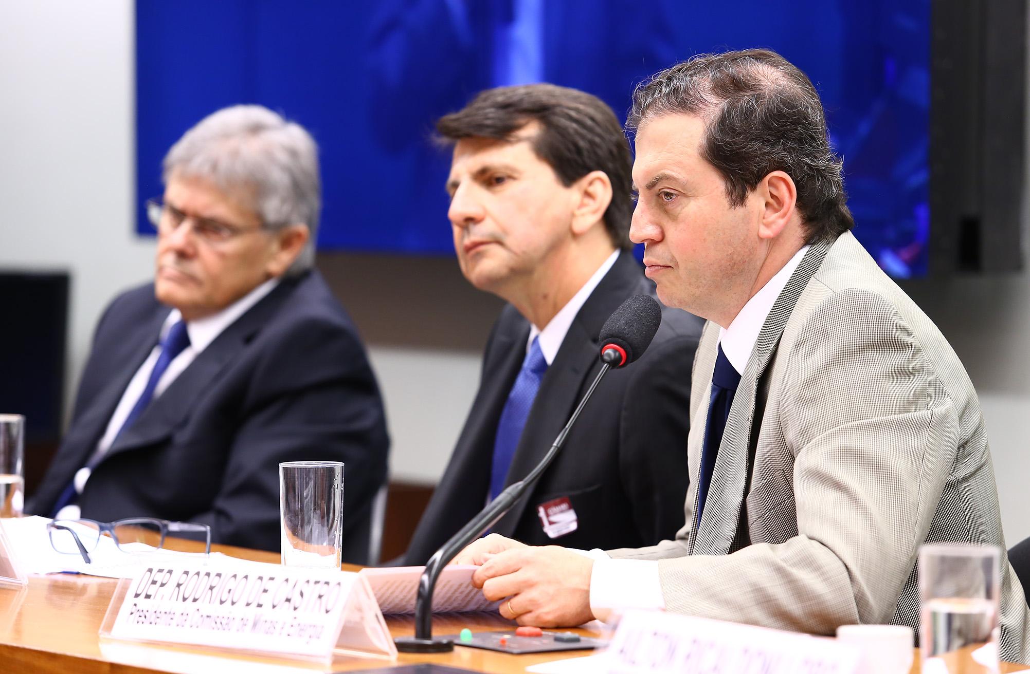 Audiência pública sobre Energia Eólica no Brasil. Presidente da CME, dep. Rodrigo de Castro (PSDB-MG)