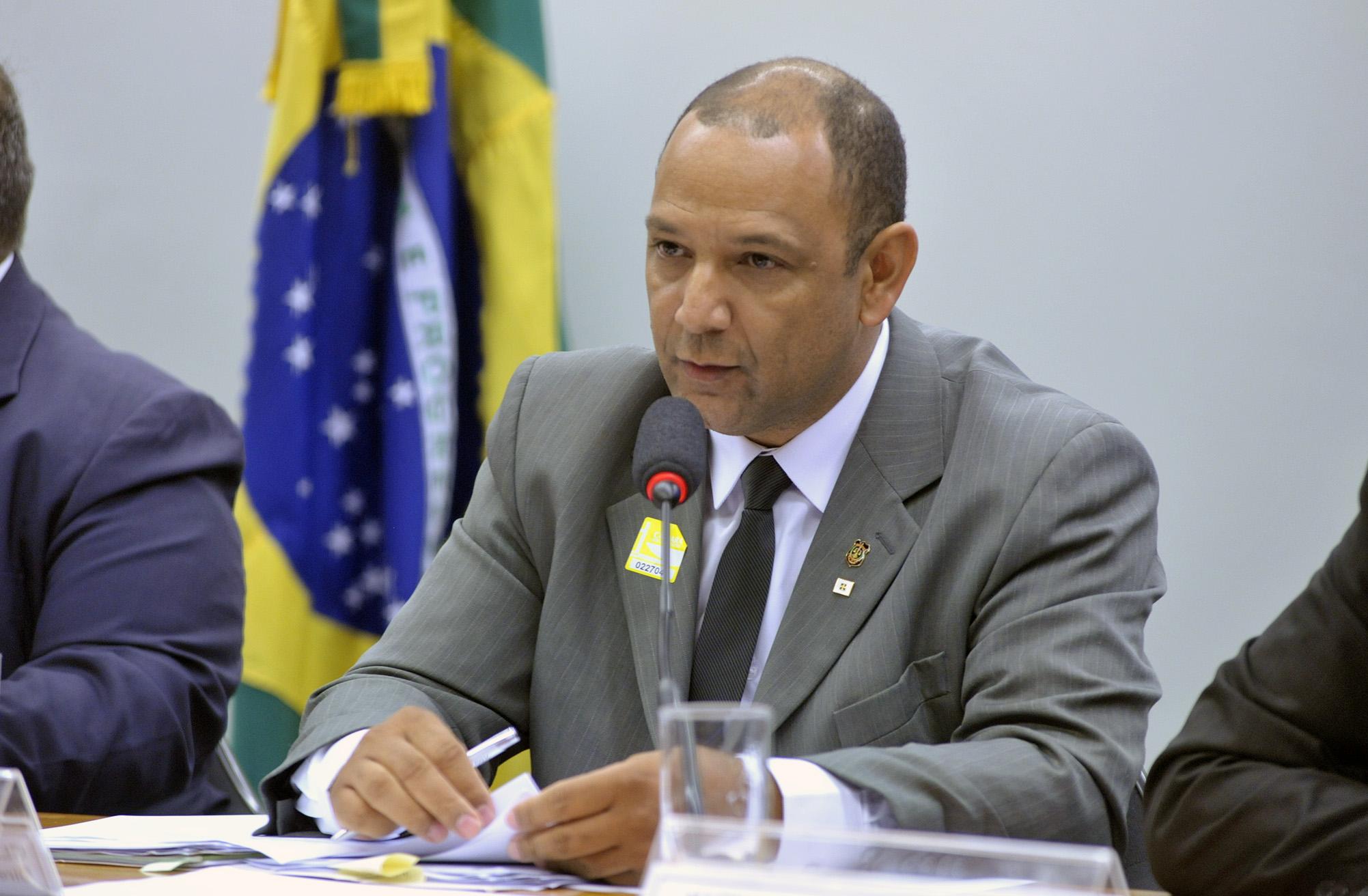 Reunião Ordinária. Diretor do Instituto de Indentificação do DF, Claudionor Batista dos Santos