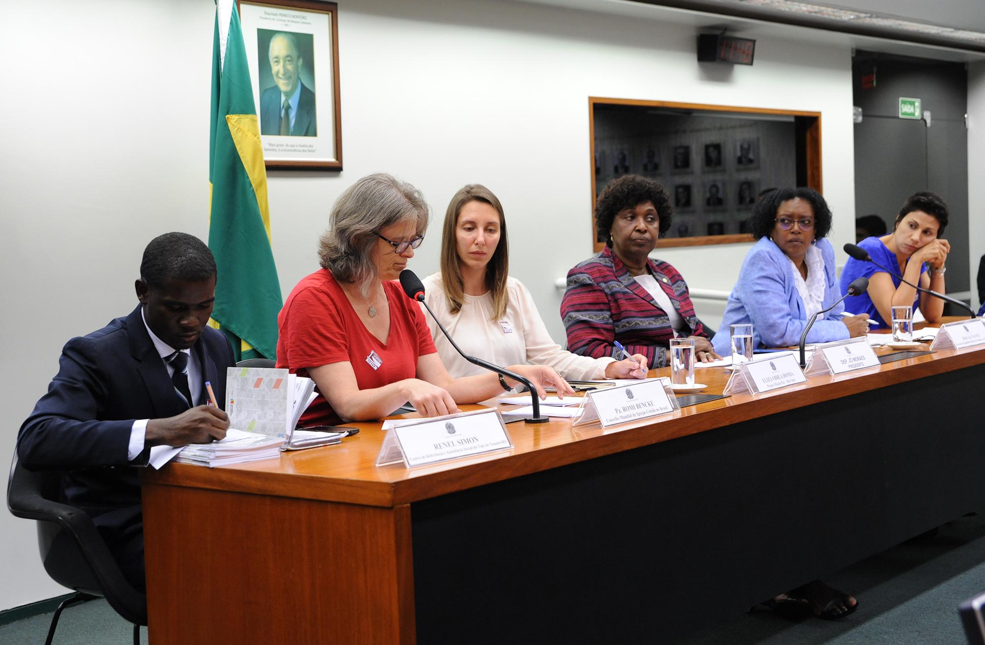 Audiência pública sobre os recentes casos de ataques xenófobos no Brasil, em especial contra os imigrantes haitianos