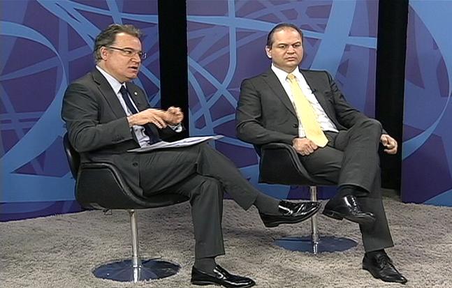 Dep. Ricardo Barros e Dep. Samuel Moreira