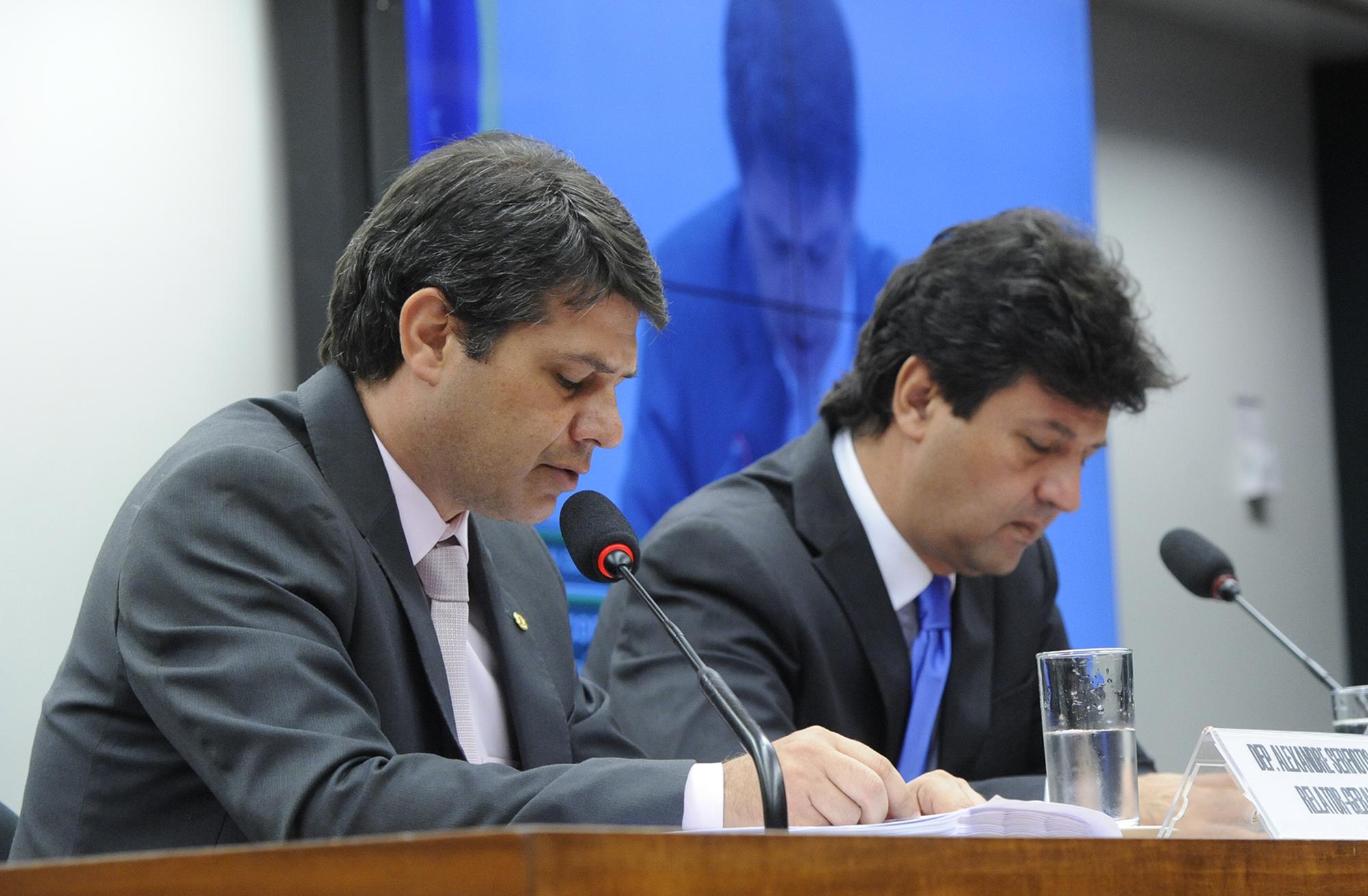 Reunião para apreciação do relatório final da Subcomissão Especial Carreira Médica. Relator, dep. Alexandre Serfiotes (PSD-RJ)