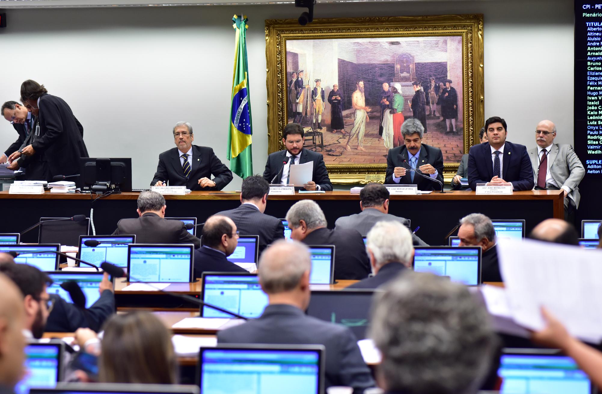 Reunião ordinária para votação do Relatório Final da CPI