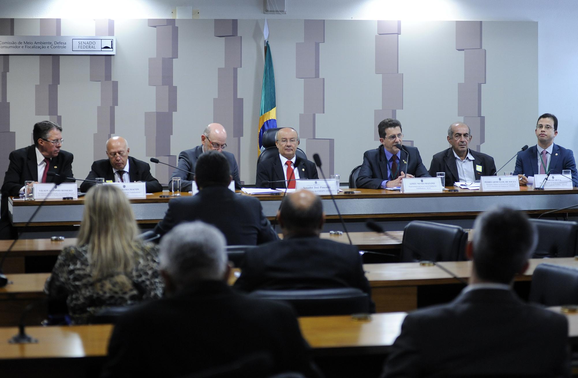 Audiência Pública para debater na comissão mista sobre a MP 696/15 sobre Reforma Administrativa