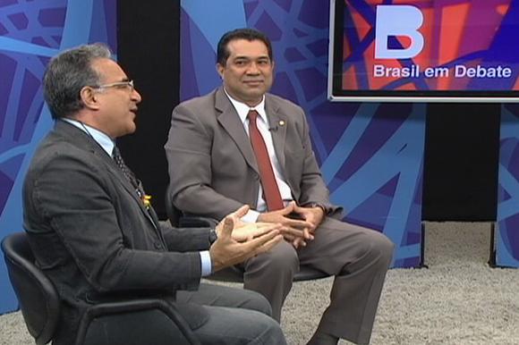 dep. Carlos Andrade e dep. Edmilson Rodrigues