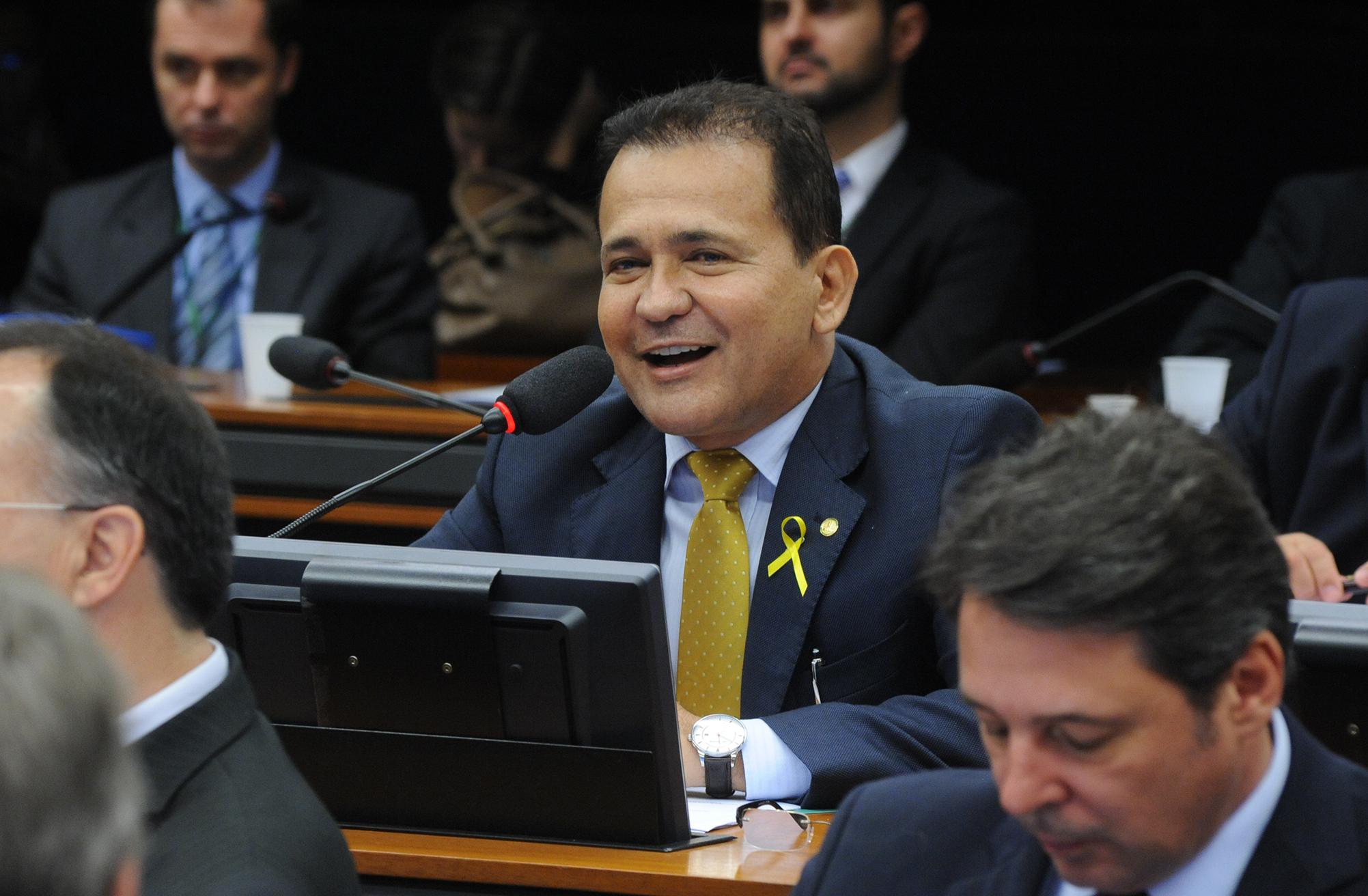 Audiência pública sobre os planos de produção e estímulo à modernização de industrias nacionais. Dep. Marcos Reategui (PSC-AP)