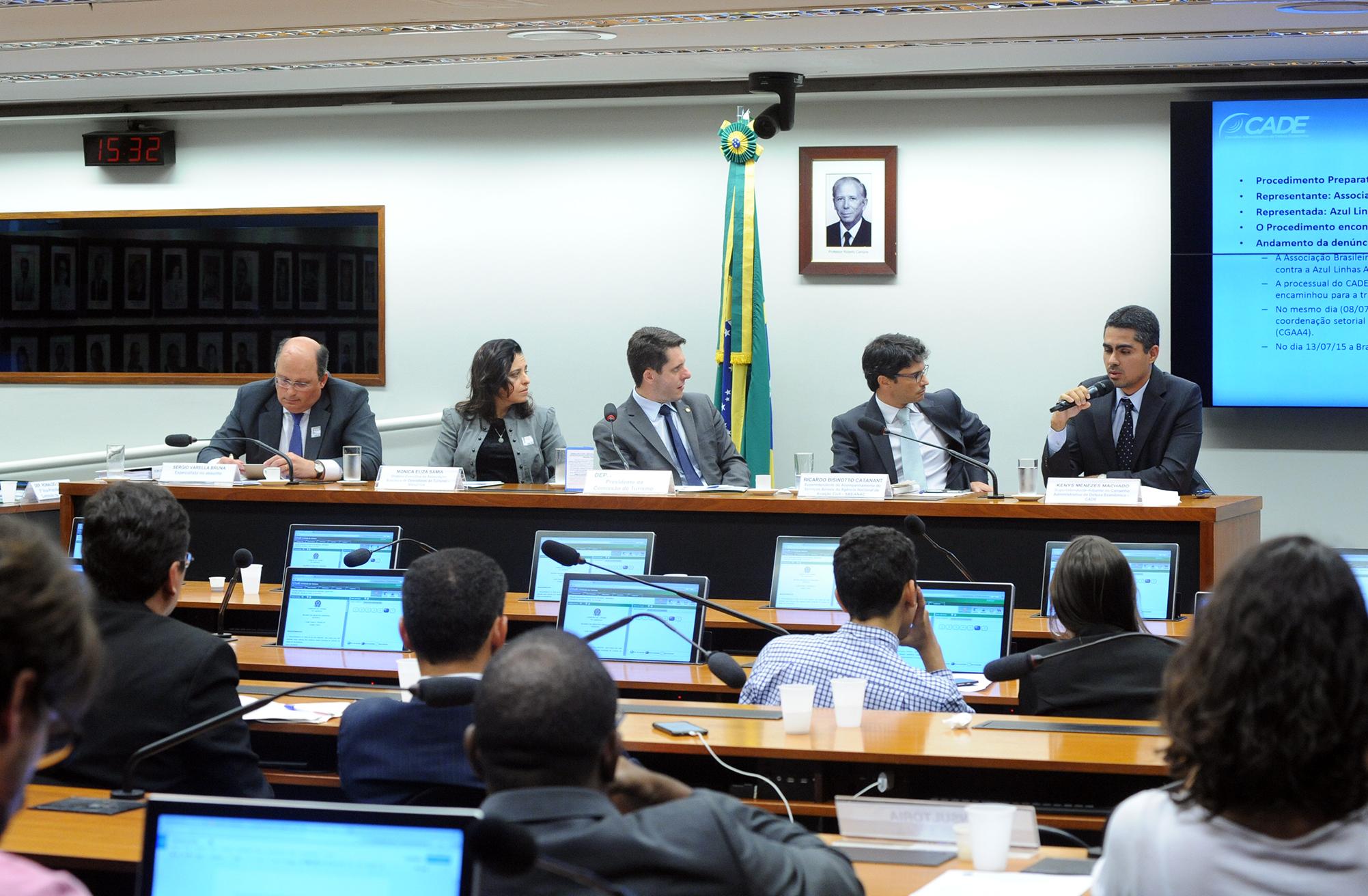 Audiência pública sobre a denúncia da Braztoa junto ao CADE e à ANAC