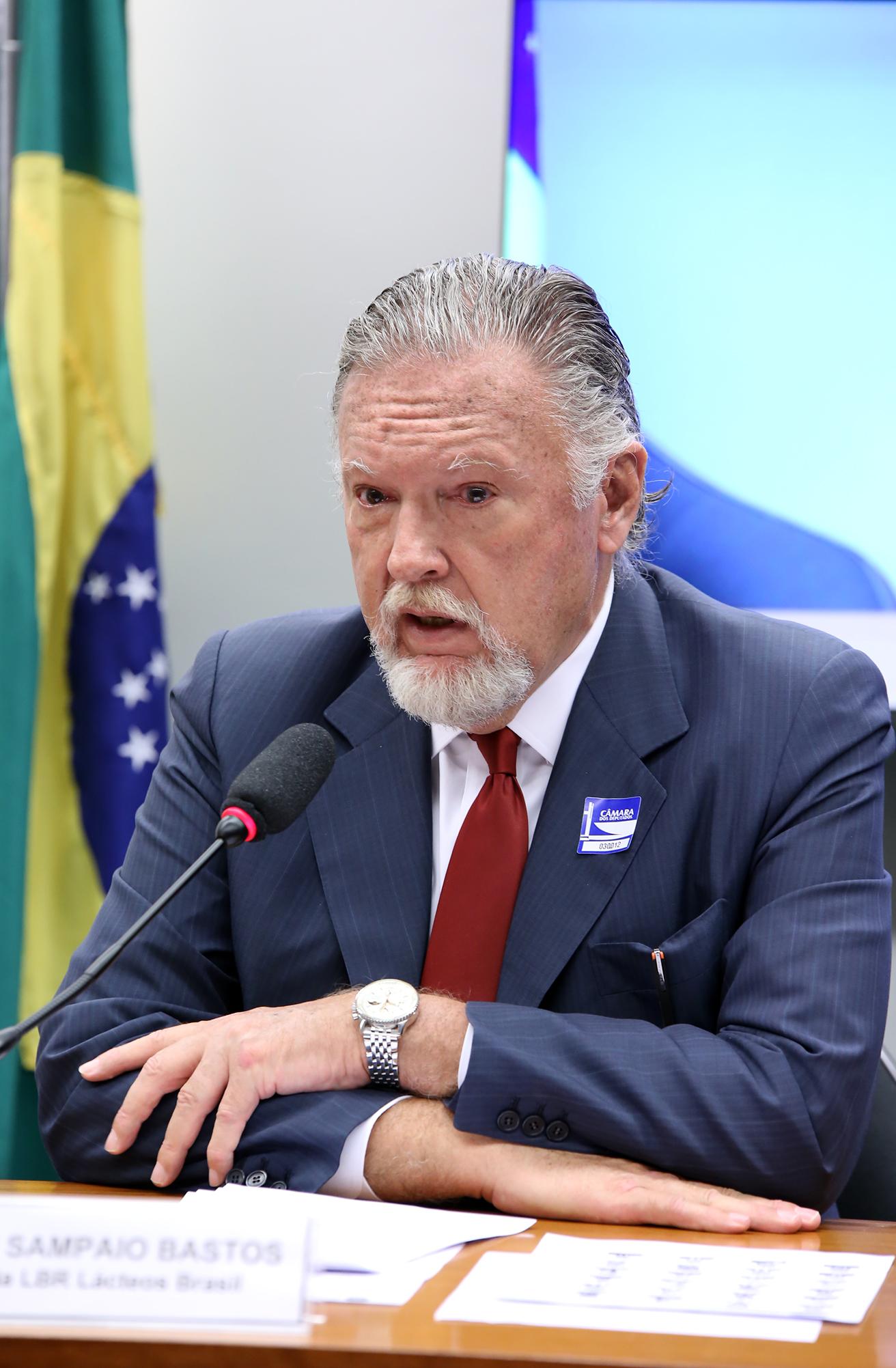Audiência pública para oitiva do presidente da LBR Lácteos Brasil, Nelson Sampaio Bastos