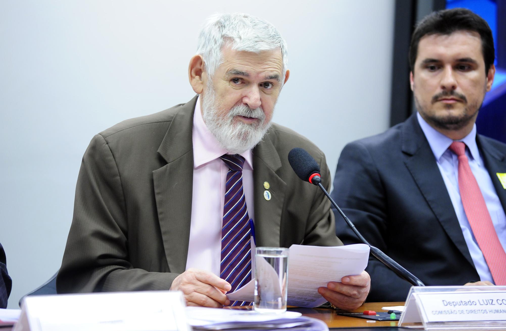 Audiência pública sobre as denúncias de ameaças, invasões e expulsão de moradores beneficiados pelo programa habitacional Minha Casa Minha Vida. Dep. Luiz Couto (PT-PB)