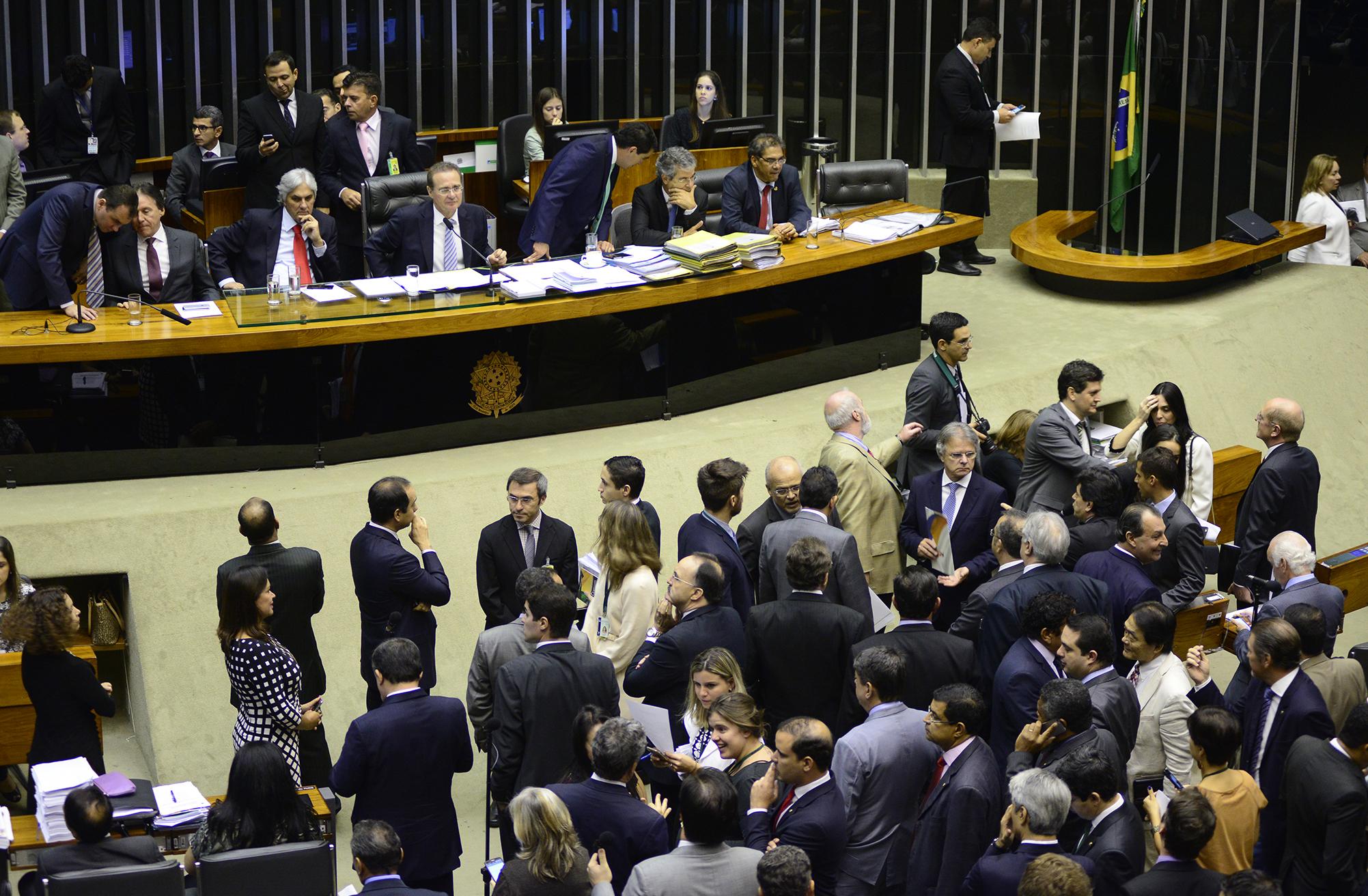 Sessão do Congresso Nacional para a análise e votação de vetos presidenciais