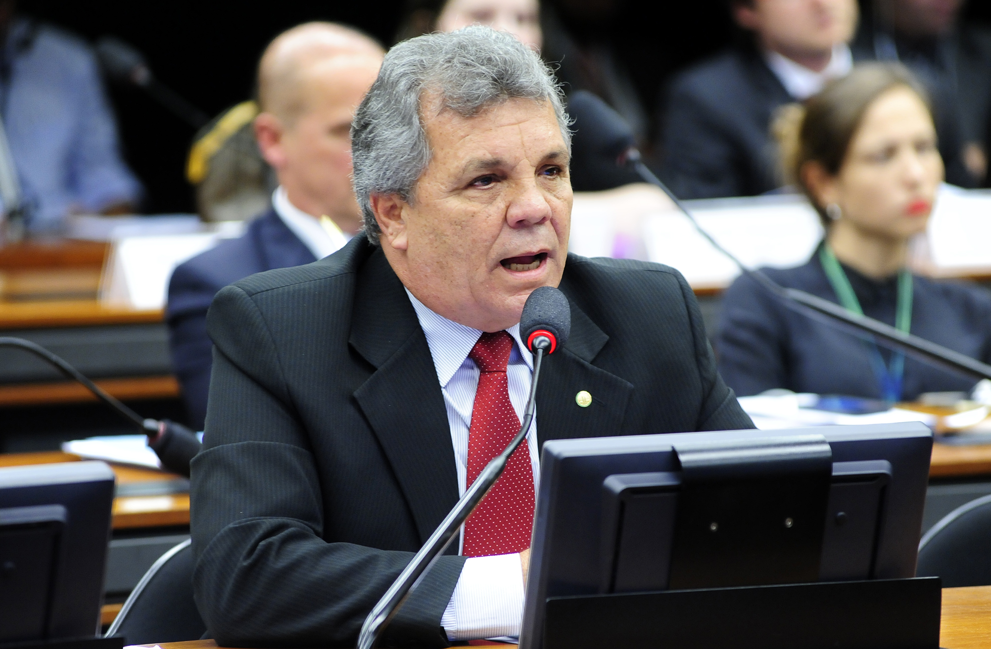 Reunião para apreciação do Parecer Preliminar, referente ao Processo nº 02/15, Representação 02/15, do PCdoB, em desfavor do dep. Alberto Fraga (DEM/DF)
