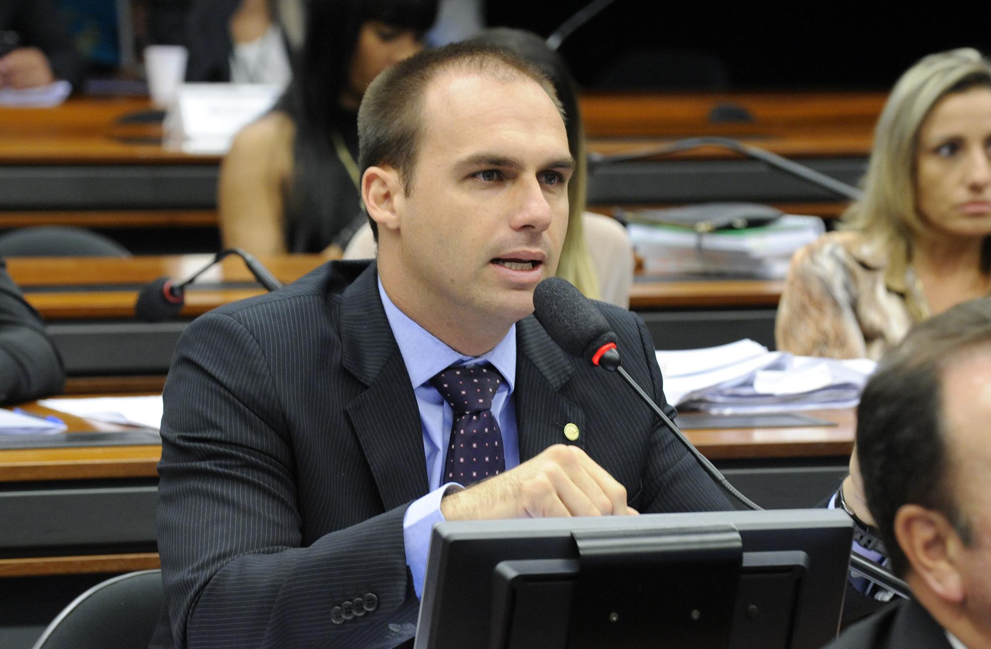 Audiência Pública e Reunião Ordinária. Dep. Eduardo Bolsonaro (PSC-SP)