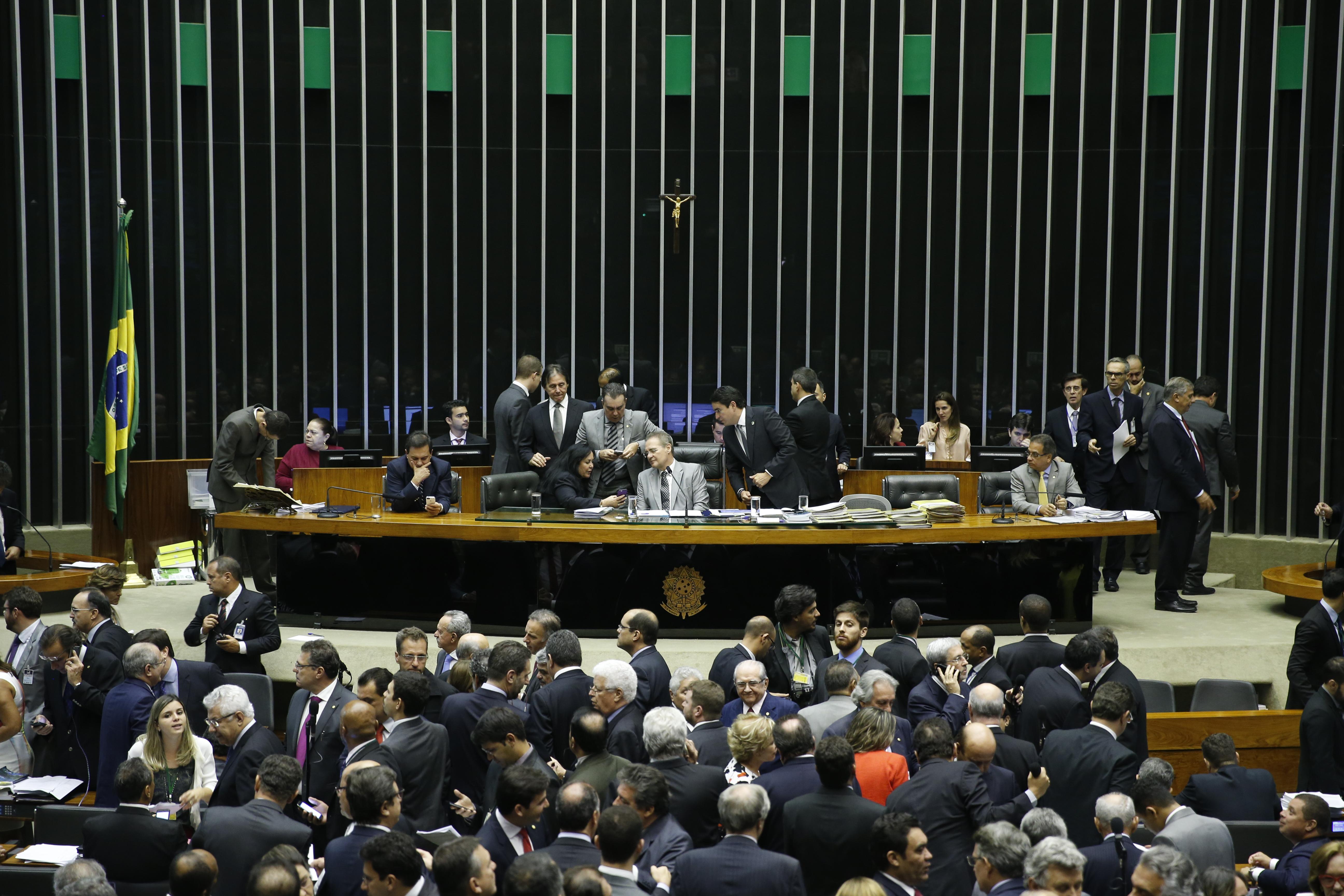 Sessão do Congresso Nacional para a análise e votação de vetos presidenciais.