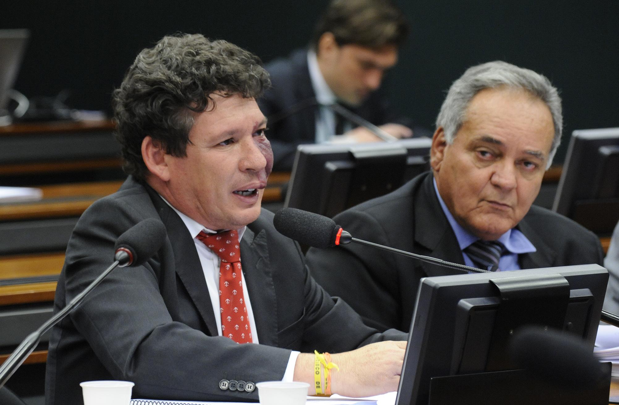 Reunião destinada a discutir os relatórios setoriais dos quatro sub-relatores da comissão. Dep. Reginaldo Lopes (PT-MG)