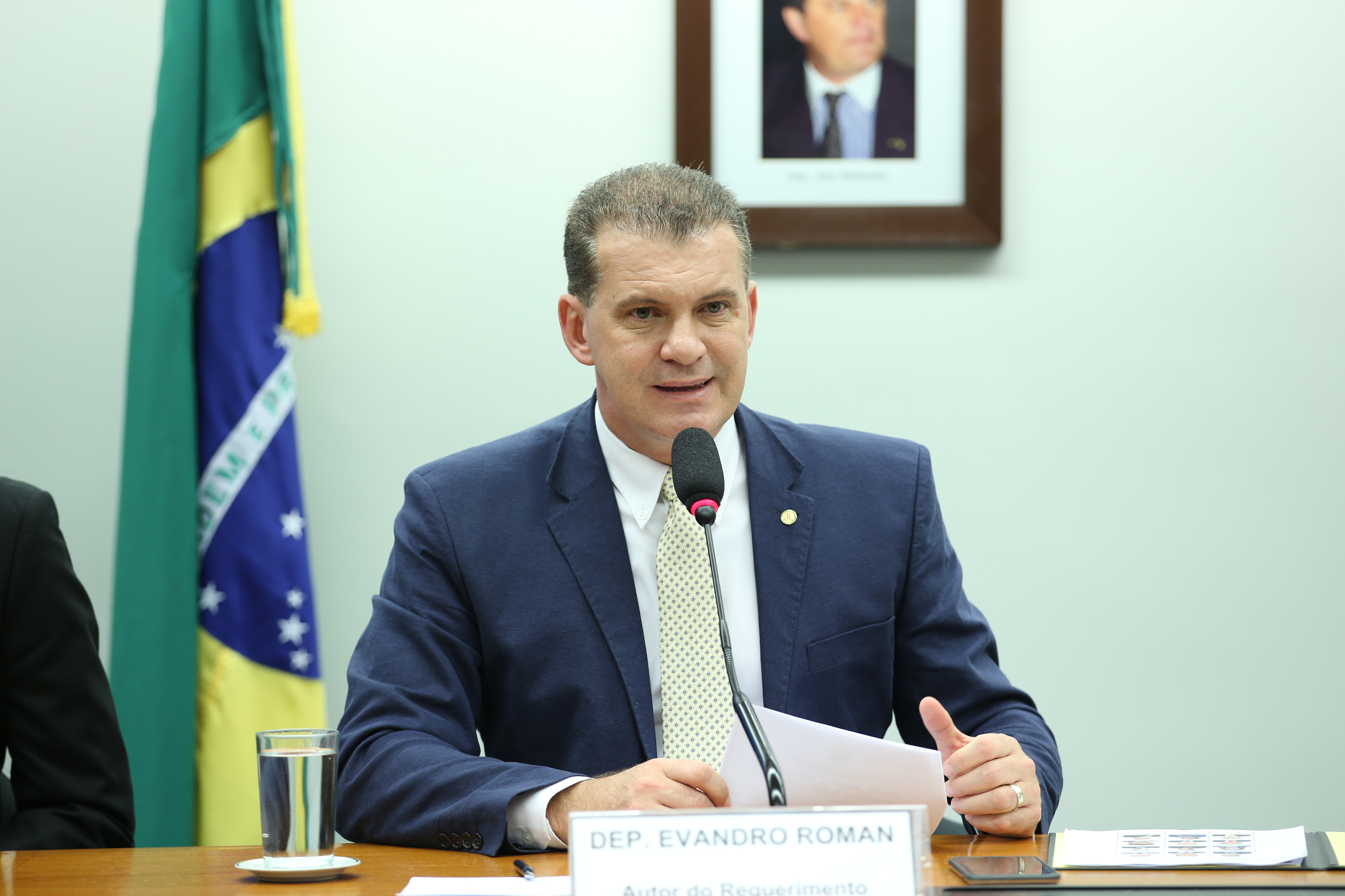 Deputados D - F - Evandro Roman