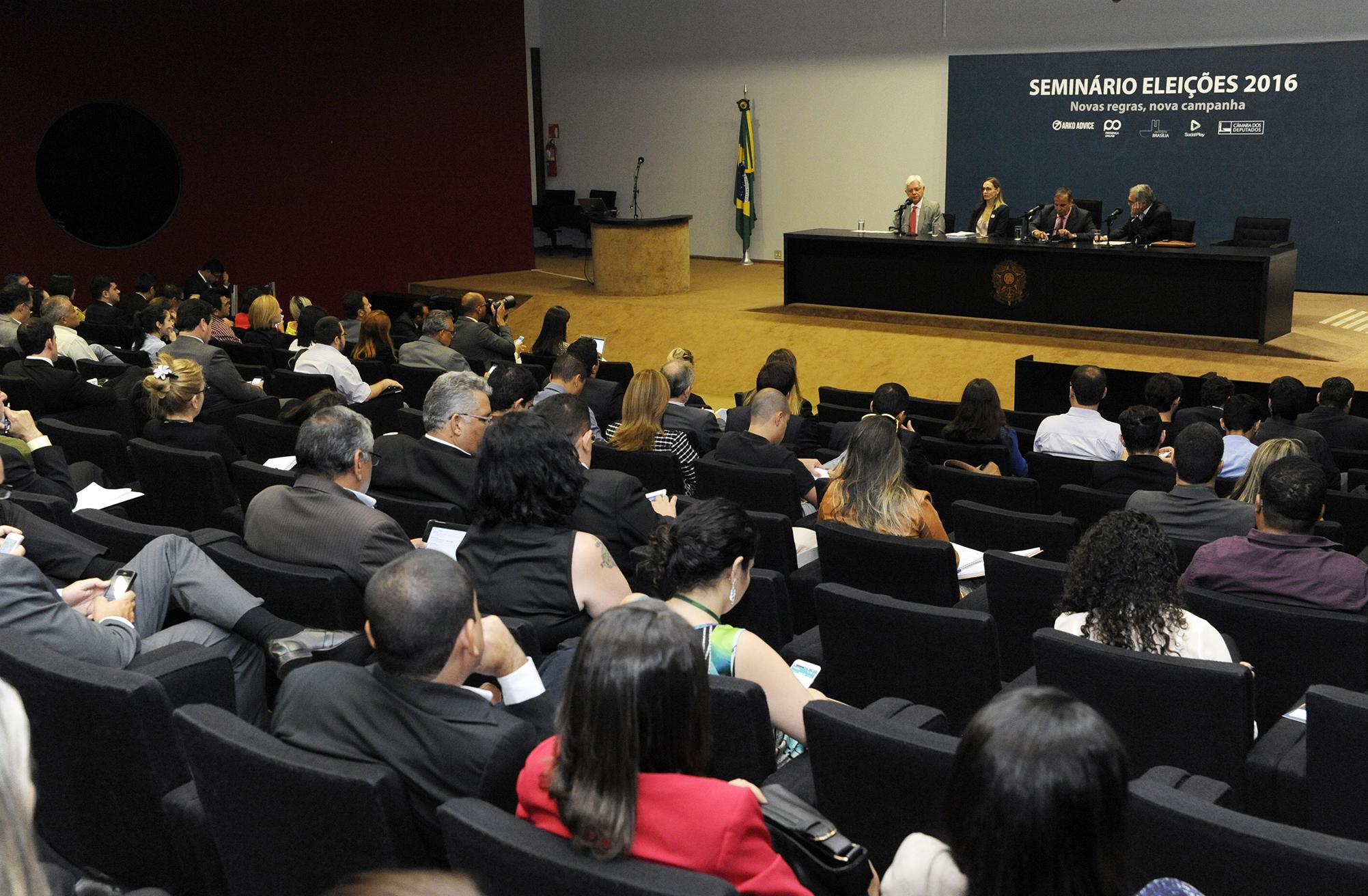 Seminário Eleições 2016: conjuntura e regras