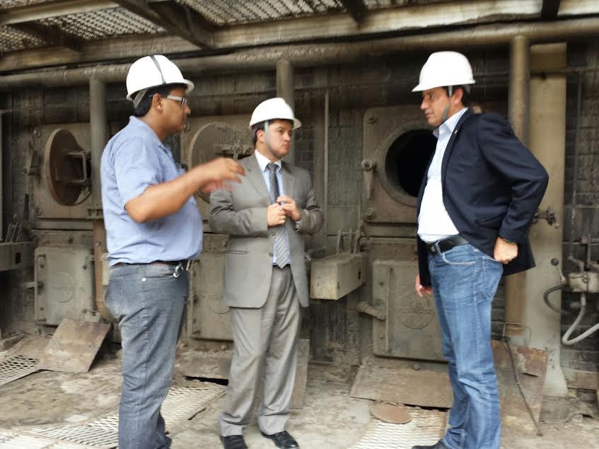 Energia - renováveis - usina canabrava bioenergia Efraim Filho e Sérgio Souza
